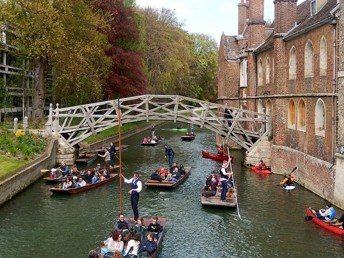 Кембридж. Математический мост