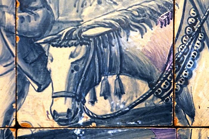 Азулежу. Лошадь с колокольчиками