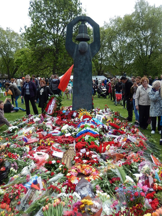 70-летие со дня Великой Победы у Мемориала в Лондоне