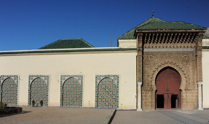 Мекнес. Вход в мавзолей Мулая Исмаила