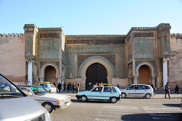 Мекнес. Ворота Баб-Эль-Мансур