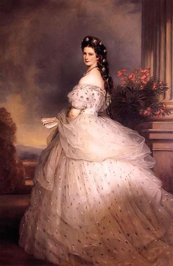Портрет Елизаветы Австрийской