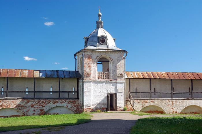 Звонница Горицкого монастыря