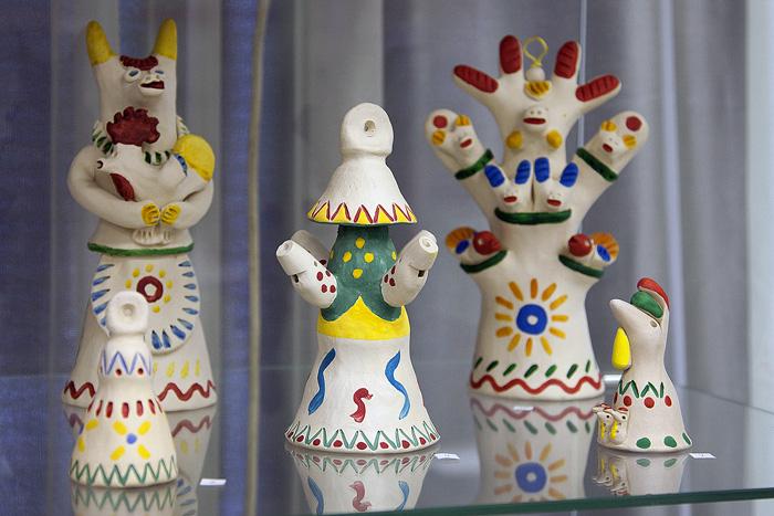 Колокольчики в традициях хлудневской игрушки