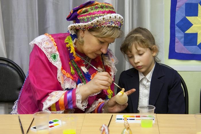 Анастасия Короленко и ее ученица