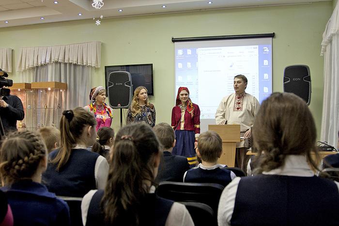 Открытие выставки Перезвон традиций