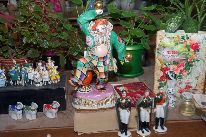 Клоун с шарами, Вербилки