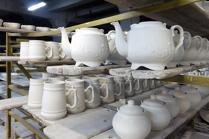 Изготовление посуды в Вербилках