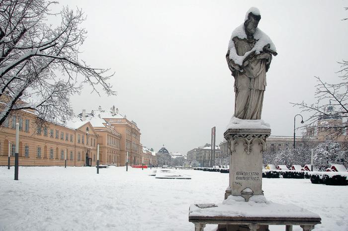 Вена зимой