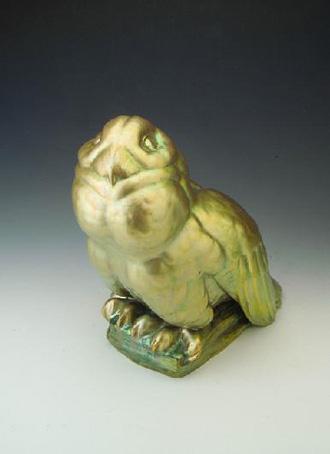 Полярная сова, 1920 год, автор Лайош Мак