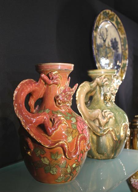 Вазы, керамика, Жолнай